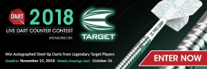 2018 DartCounter Contest Sponsored by Target